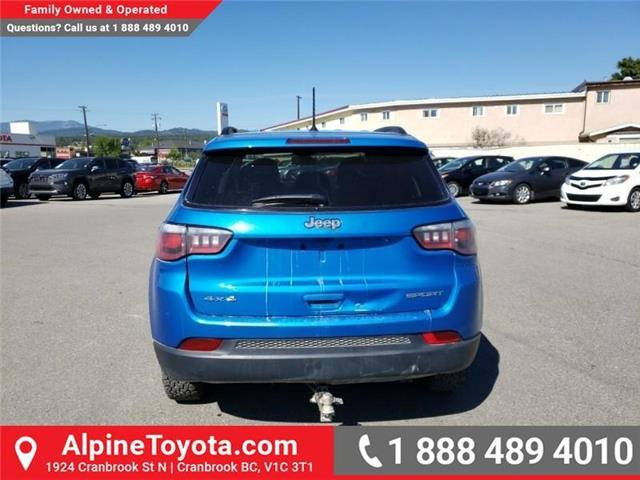 2018 Jeep Compass Sport (Stk: X108361N) in Cranbrook - Image 4 of 22