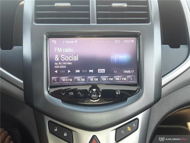 2015 Chevrolet Sonic LT Auto (Stk: G0244) in Abbotsford - Image 19 of 25