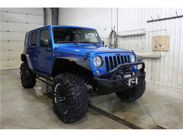 2016 Jeep Wrangler Unlimited Sahara (Stk: JT133A) in Rocky Mountain House - Image 3 of 29