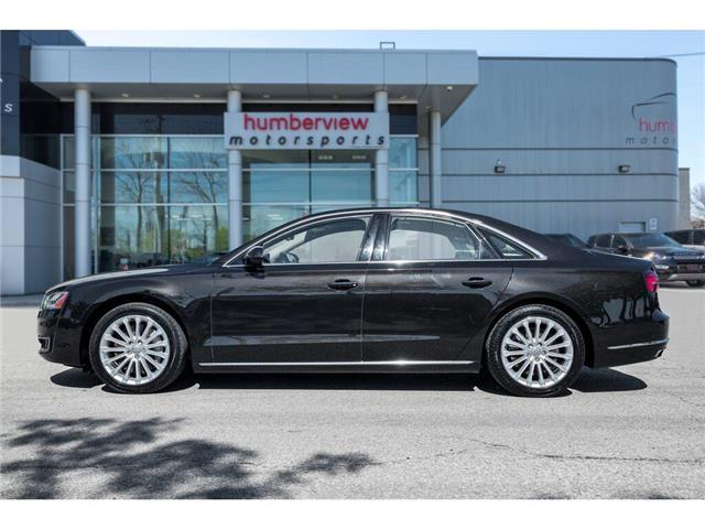 2017 Audi A8 3.0T (Stk: 19HMS784) in Mississauga - Image 3 of 22