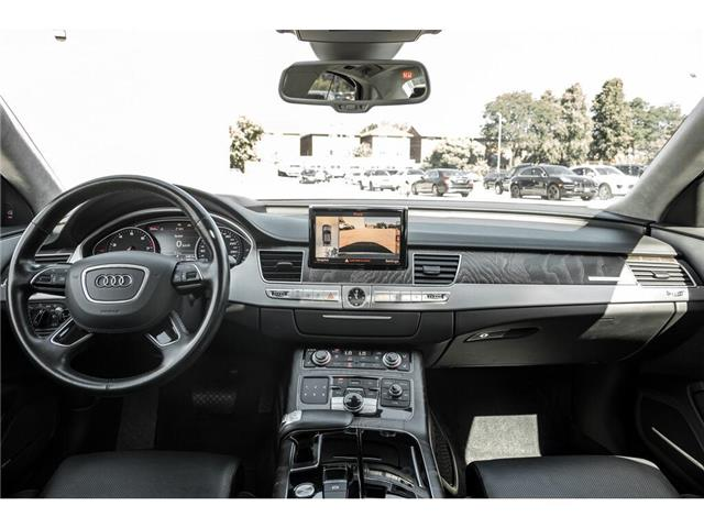 2017 Audi A8 3.0T (Stk: 19HMS784) in Mississauga - Image 19 of 22