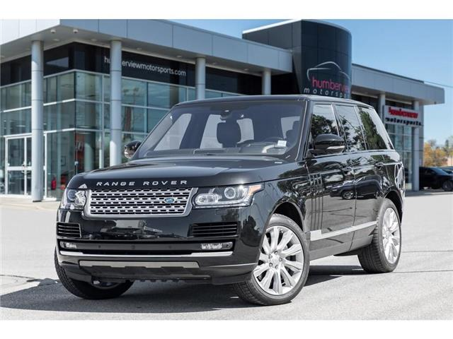 2016 Land Rover Range Rover 5.0L V8 Supercharged (Stk: 19HMS774) in Mississauga - Image 1 of 20