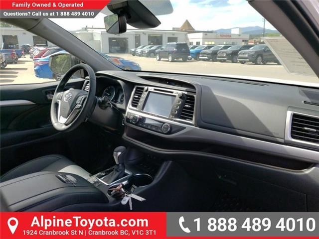 2019 Toyota Highlander XLE (Stk: S608124) in Cranbrook - Image 11 of 24