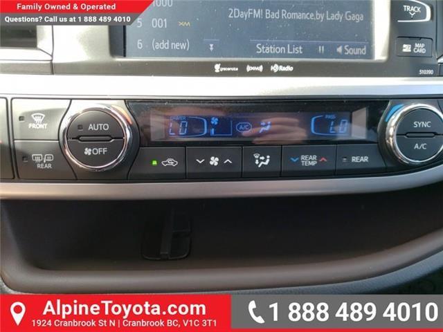 2019 Toyota Highlander XLE (Stk: S608124) in Cranbrook - Image 20 of 24