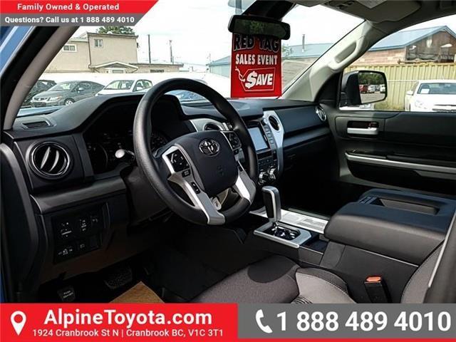 2019 Toyota Tundra SR5 Plus 5.7L V8 (Stk: X025526) in Cranbrook - Image 9 of 23