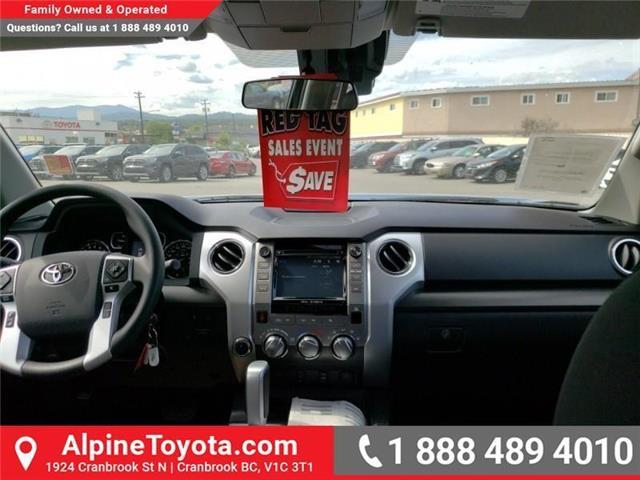 2019 Toyota Tundra SR5 Plus 5.7L V8 (Stk: X025526) in Cranbrook - Image 10 of 23