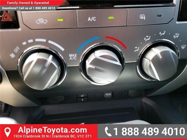 2019 Toyota Tundra SR5 Plus 5.7L V8 (Stk: X025526) in Cranbrook - Image 19 of 23