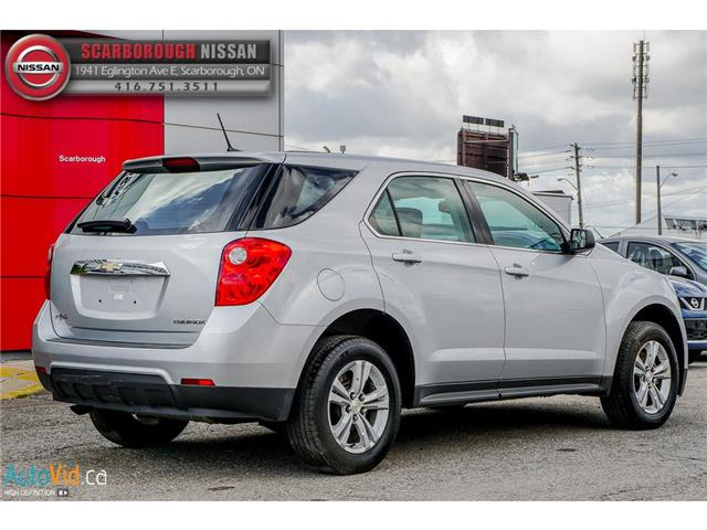 2014 Chevrolet Equinox LS (Stk: D18017A) in Scarborough - Image 7 of 26