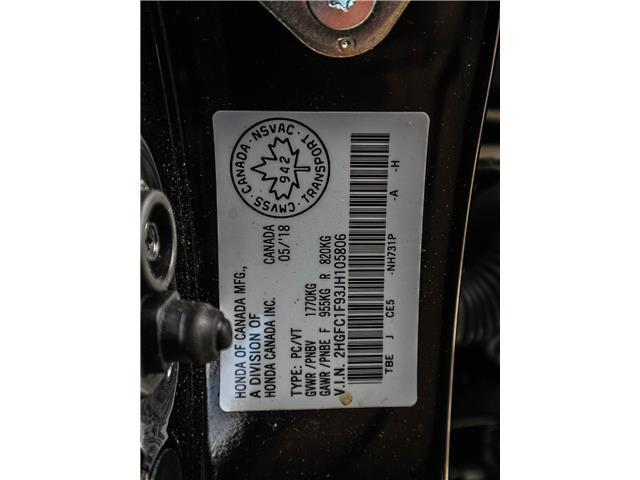 2018 Honda Civic Touring (Stk: H7865-0) in Ottawa - Image 25 of 27