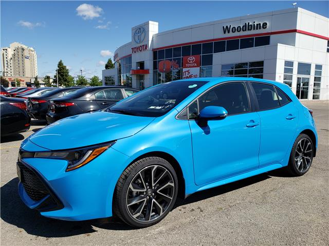 2019 Toyota Corolla Hatchback SE Upgrade Package (Stk: 9-1141) in Etobicoke - Image 1 of 9
