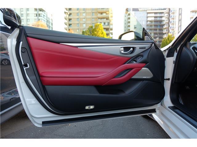 2017 Infiniti Q60 3.0t Red Sport 400 (Stk: 147593A) in Victoria - Image 10 of 27
