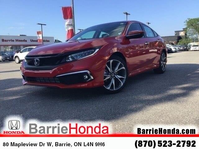 2019 Honda Civic Touring (Stk: 191364) in Barrie - Image 1 of 22