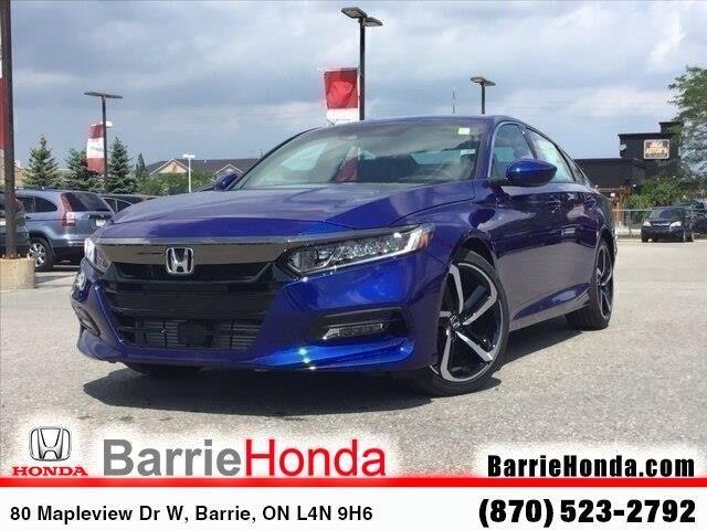 2019 Honda Accord Sport 1.5T (Stk: 191455) in Barrie - Image 1 of 21