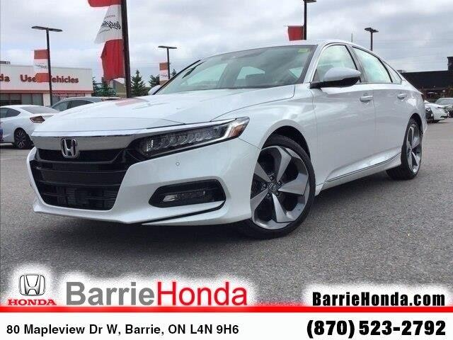 2019 Honda Accord Touring 1.5T (Stk: 19483) in Barrie - Image 1 of 23