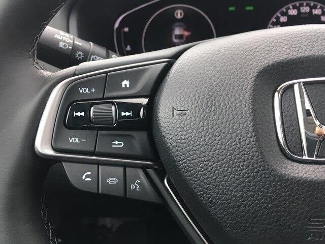 2019 Honda Accord Touring 1.5T (Stk: 19483) in Barrie - Image 11 of 23