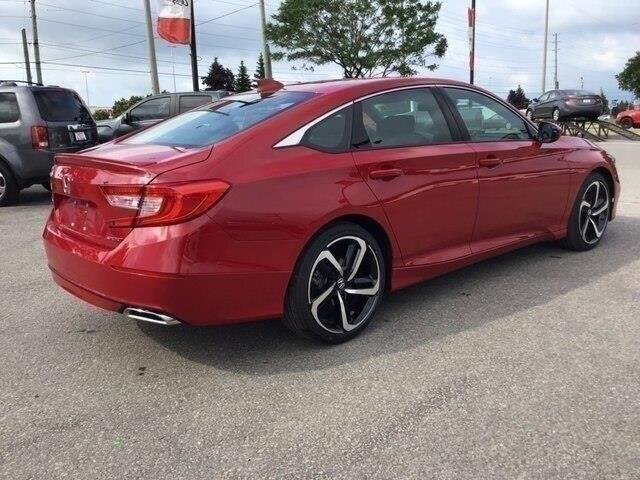 2019 Honda Accord Sport 2.0T (Stk: 19832) in Barrie - Image 6 of 22