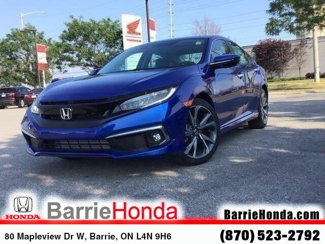 2019 Honda Civic Touring (Stk: 19822) in Barrie - Image 1 of 19