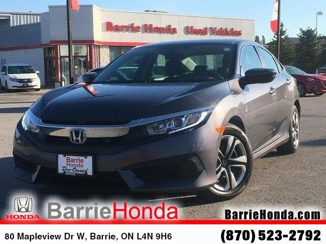2017 Honda Civic LX (Stk: U17855) in Barrie - Image 1 of 26