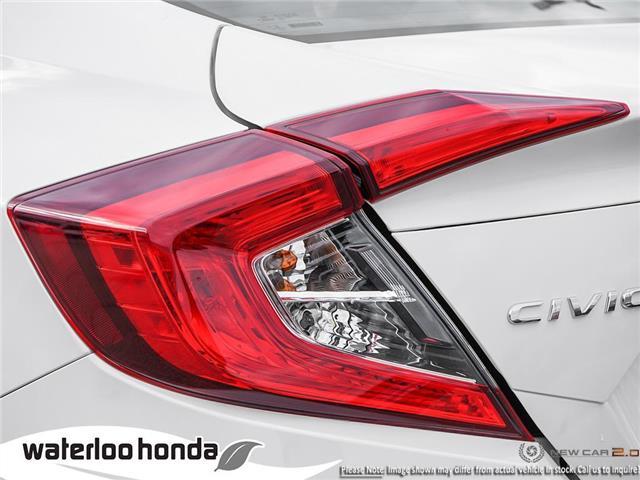 2019 Honda Civic LX (Stk: H6116) in Waterloo - Image 11 of 23