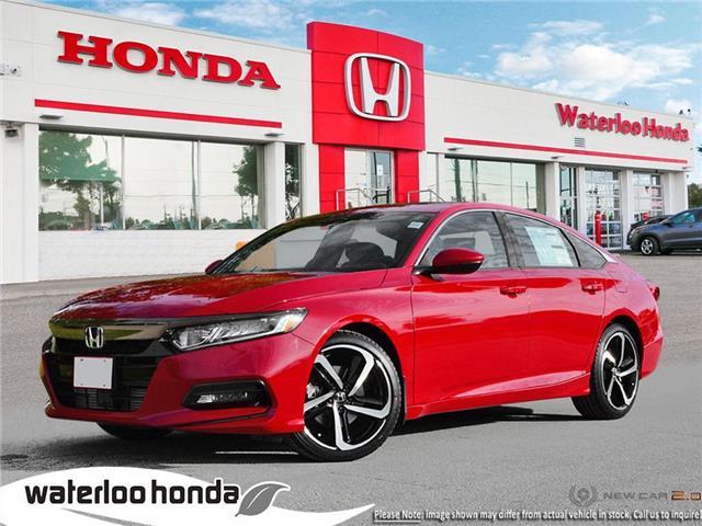 2019 Honda Accord Sport 1.5T (Stk: H6120) in Waterloo - Image 1 of 24