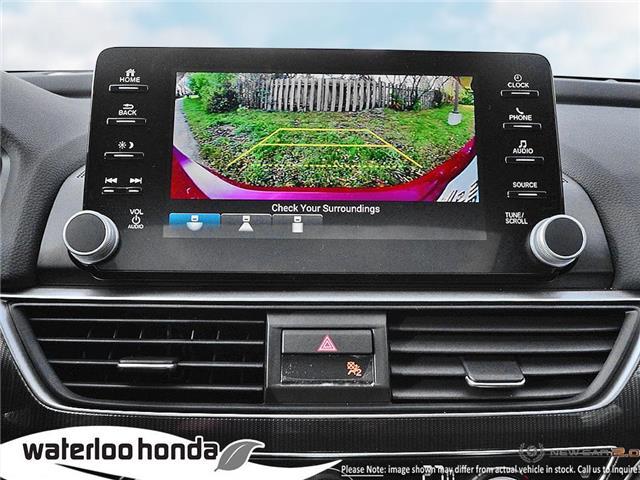 2019 Honda Accord Sport 1.5T (Stk: H6120) in Waterloo - Image 21 of 24