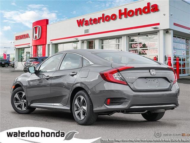 2019 Honda Civic LX (Stk: H6414) in Waterloo - Image 4 of 23