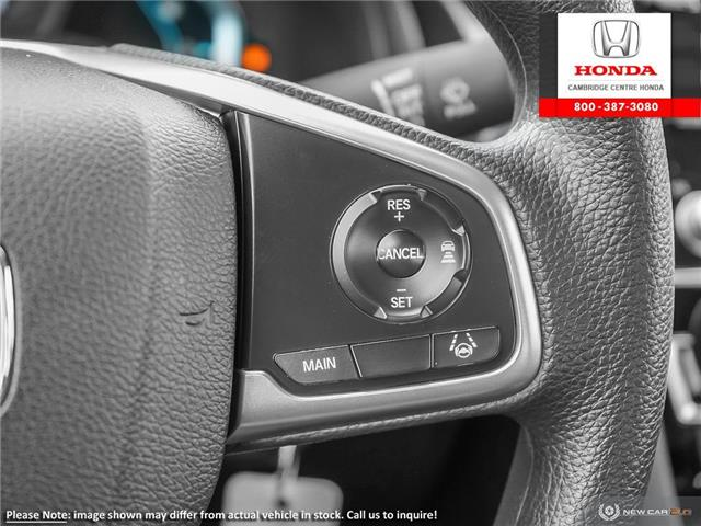 2019 Honda Civic LX (Stk: 20195) in Cambridge - Image 16 of 24