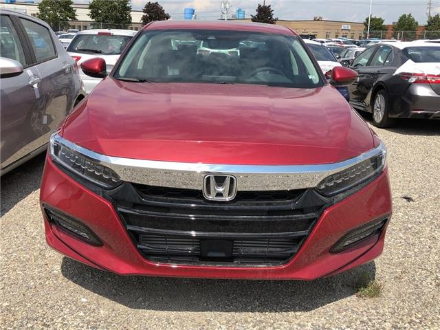 2019 Honda Accord Touring 1.5T (Stk: I190291) in Mississauga - Image 2 of 5