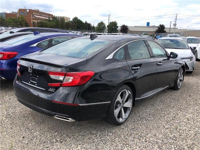 2019 Honda Accord Touring 2.0T (Stk: I190676) in Mississauga - Image 4 of 5