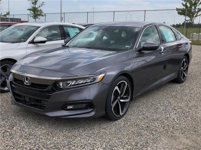 2019 Honda Accord Sport 2.0T (Stk: I190179) in Mississauga - Image 1 of 5