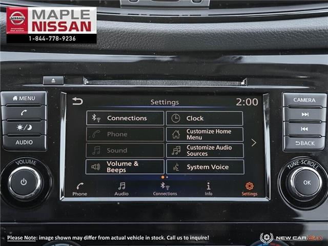 2019 Nissan Rogue AWD, Remote Starter, AppleCarPlay, ++ (Stk: M19R032) in Maple - Image 17 of 22