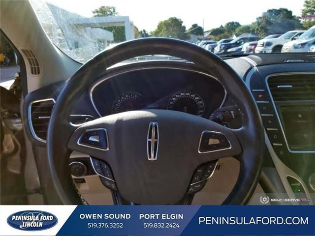 2016 Lincoln MKX Reserve (Stk: 19LI36A) in Owen Sound - Image 13 of 24