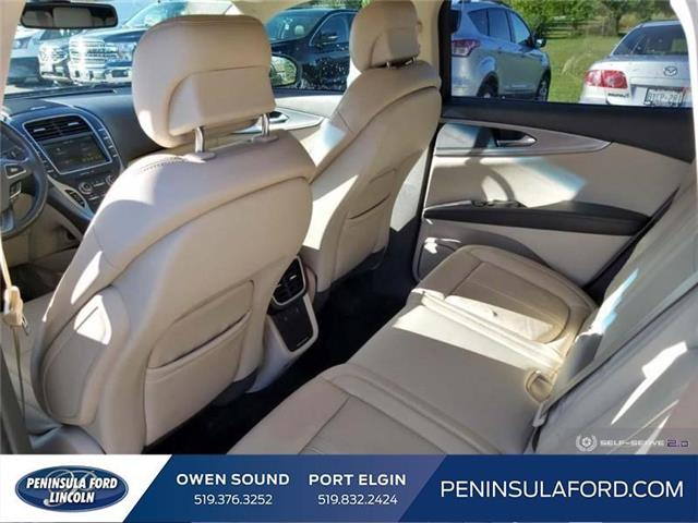 2016 Lincoln MKX Reserve (Stk: 19LI36A) in Owen Sound - Image 22 of 24