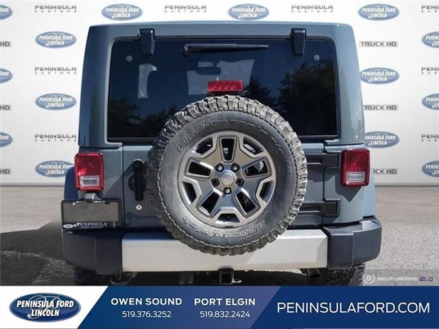 2015 Jeep Wrangler Sahara (Stk: 19FE169B) in Owen Sound - Image 5 of 23