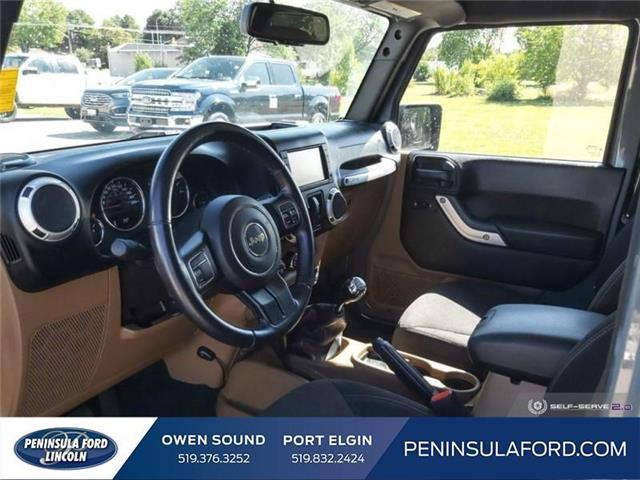 2015 Jeep Wrangler Sahara (Stk: 19FE169B) in Owen Sound - Image 12 of 23