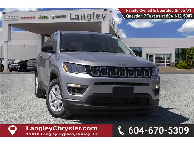 2019 Jeep Compass Sport (Stk: K819524) in Surrey - Image 1 of 23