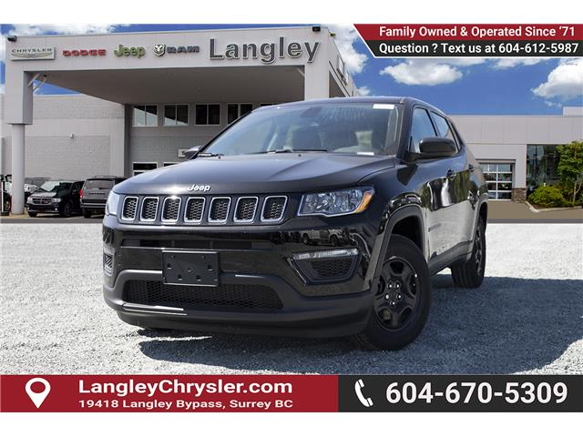 2019 Jeep Compass Sport (Stk: K788625) in Surrey - Image 3 of 23