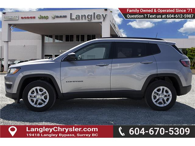 2019 Jeep Compass Sport (Stk: K819524) in Surrey - Image 4 of 23