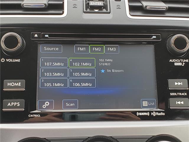 2016 Subaru Crosstrek Touring Package (Stk: U3702LD) in Whitby - Image 15 of 25