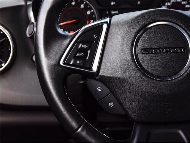 2018 Chevrolet Camaro 1LS/REDLINE/6-SPD MAN/20s/CARPLAY/DUAL MODE EXHST (Stk: 155897B) in Milton - Image 18 of 24