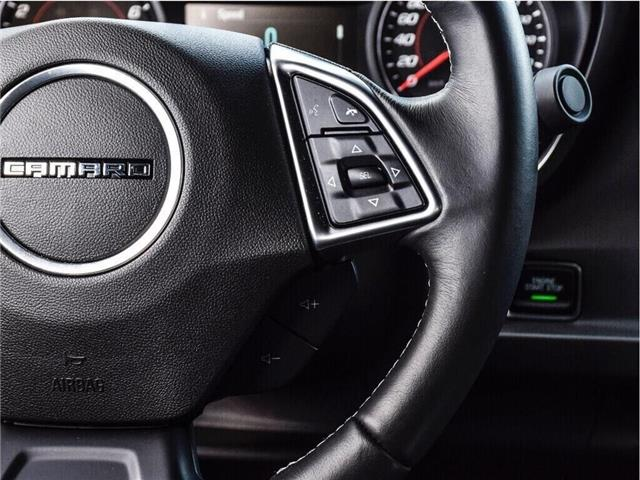 2018 Chevrolet Camaro 1LS/REDLINE/6-SPD MAN/20s/CARPLAY/DUAL MODE EXHST (Stk: 155897B) in Milton - Image 19 of 24