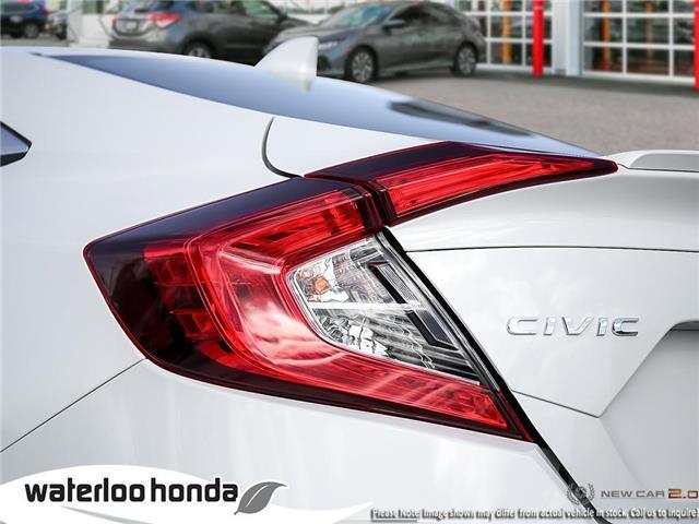2019 Honda Civic Touring (Stk: H6125) in Waterloo - Image 11 of 23