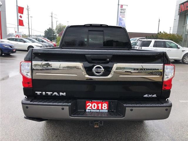 2018 Nissan Titan Platinum (Stk: A6706) in Burlington - Image 4 of 20