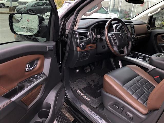 2018 Nissan Titan Platinum (Stk: A6706) in Burlington - Image 12 of 20