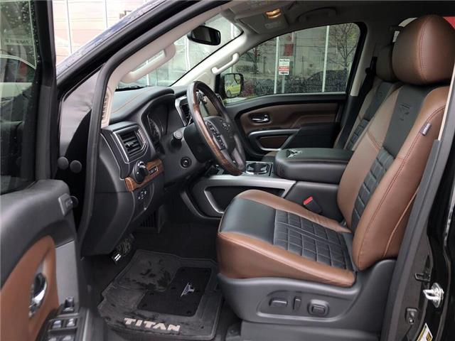 2018 Nissan Titan Platinum (Stk: A6706) in Burlington - Image 13 of 20