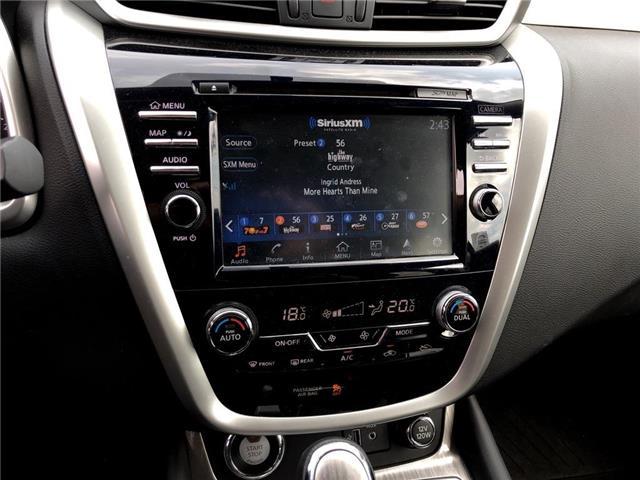 2018 Nissan Murano SV (Stk: U1083A) in Cambridge - Image 19 of 28
