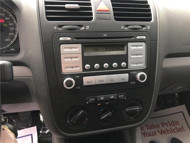 2007 Volkswagen Jetta 2.5 (Stk: 5936V) in Oakville - Image 13 of 16