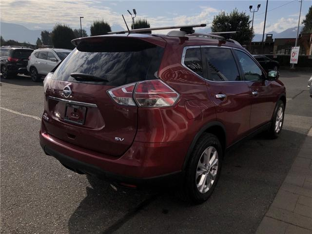 2016 Nissan Rogue SV (Stk: N91-4788A) in Chilliwack - Image 5 of 16