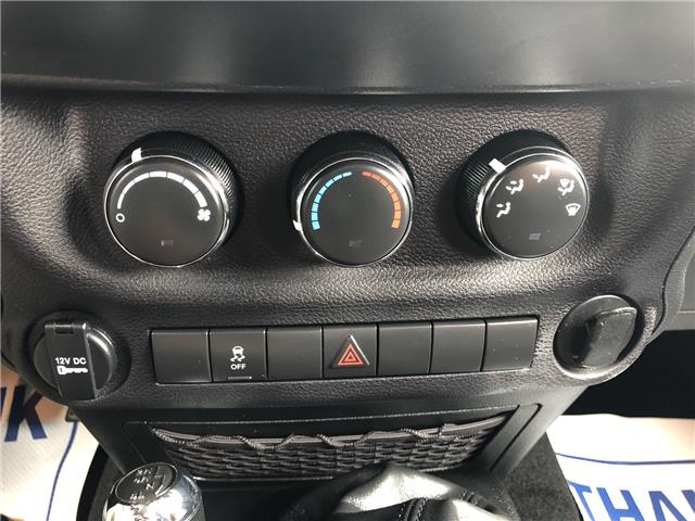 2017 Jeep Wrangler Sport (Stk: SUB1475A) in Innisfil - Image 10 of 15