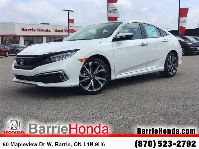 2019 Honda Civic Touring (Stk: 19554) in Barrie - Image 1 of 24